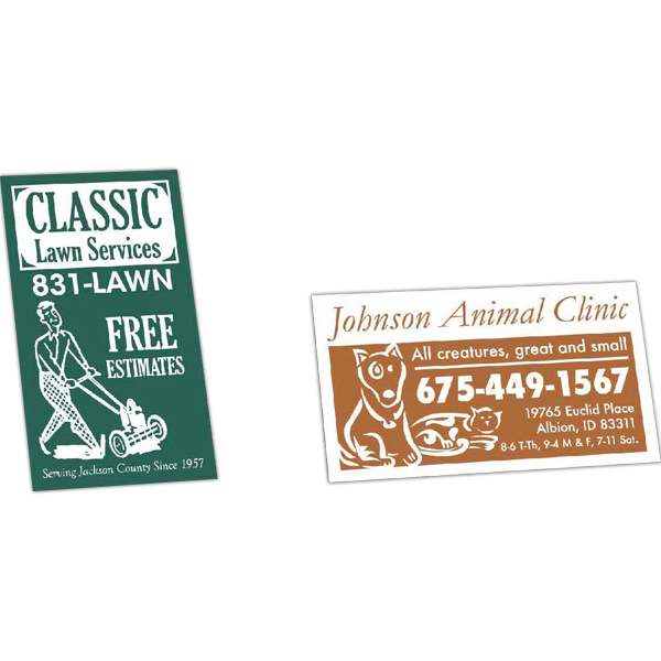 Printed Value Business Card Magnet
