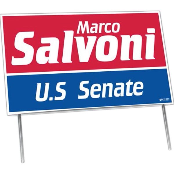 Printed Double-Sided Yard Signs