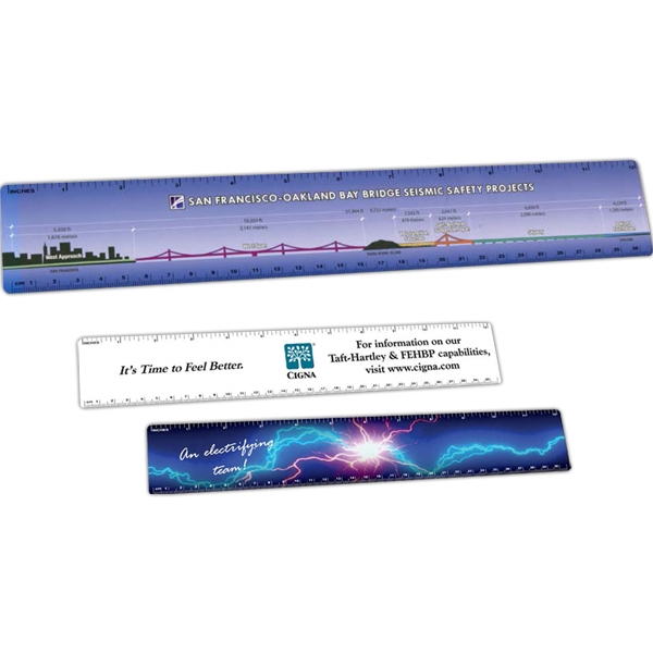 Imprinted Plastic Rulers