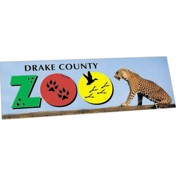 Personalized Full Color Bumper Sticker