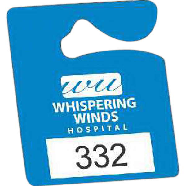 Imprinted Durable Plastic Hanging Parking Permit