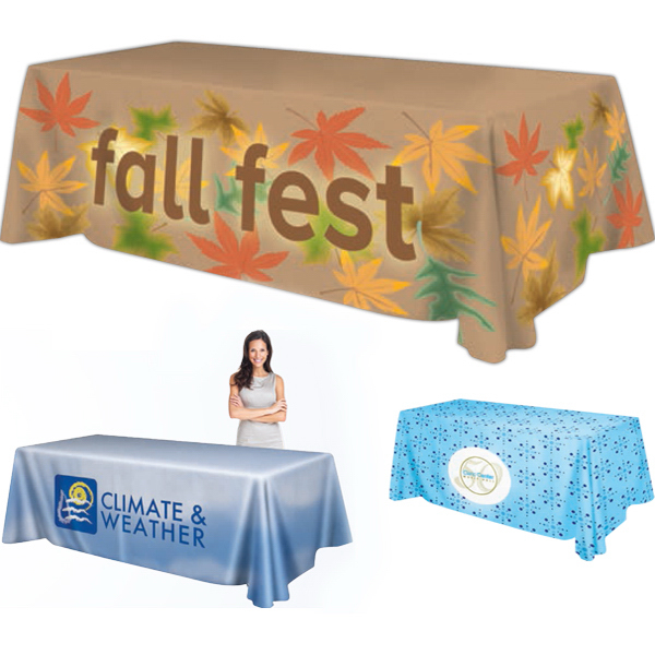 Customized Premium Table Throw