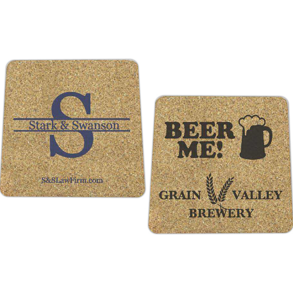Imprinted Cork Coaster