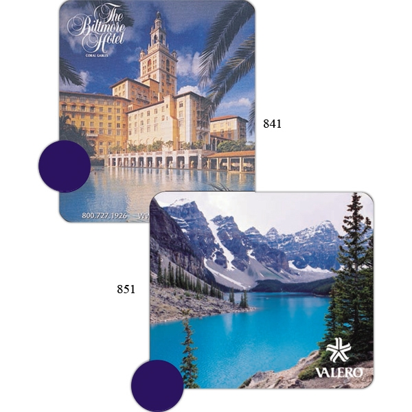Imprinted Sublimated Soft Mouse Pad