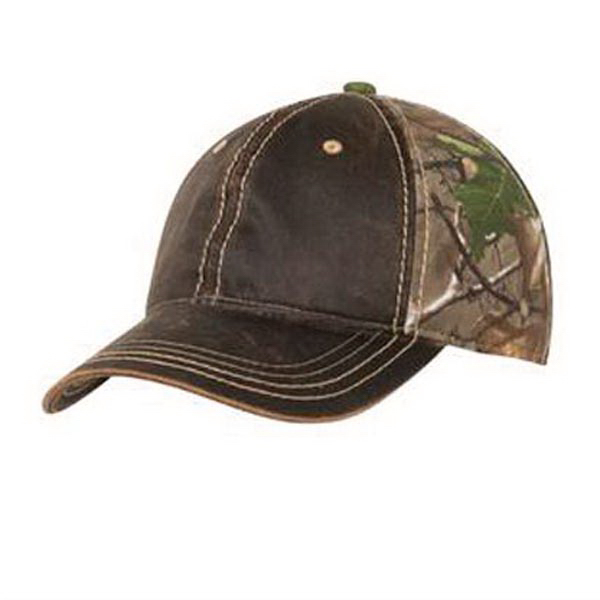 Customized Port Authority Pigment Dyed Camouflage Cap