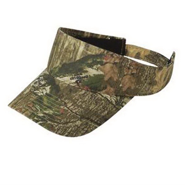 Custom Port Authority Camouflage Visor