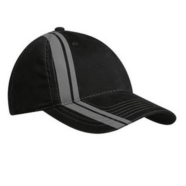 Customized Port Authority Double Stripe Cap