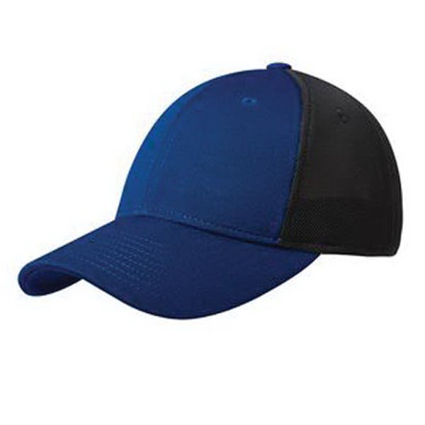 Printed Port Authority Pique Mesh Cap