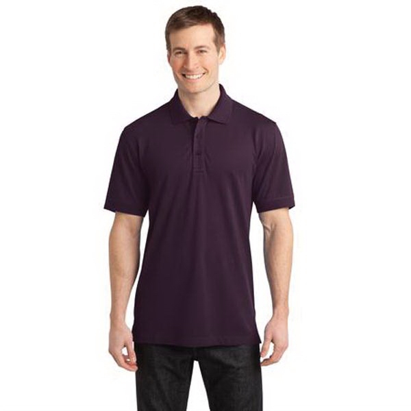 Personalized Port Authority - Stretch Pique Polo