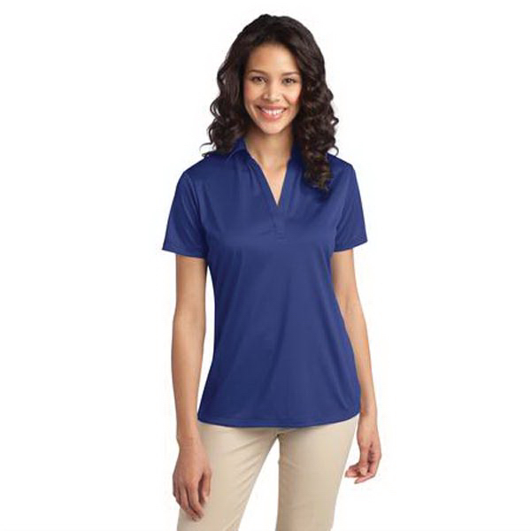 Personalized Port Authority Ladies Silk Touch Performance Polo