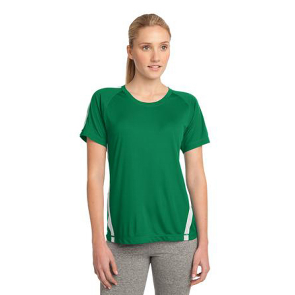 Promotional Sport Tek Ladies' Colorblock Competitor Tee