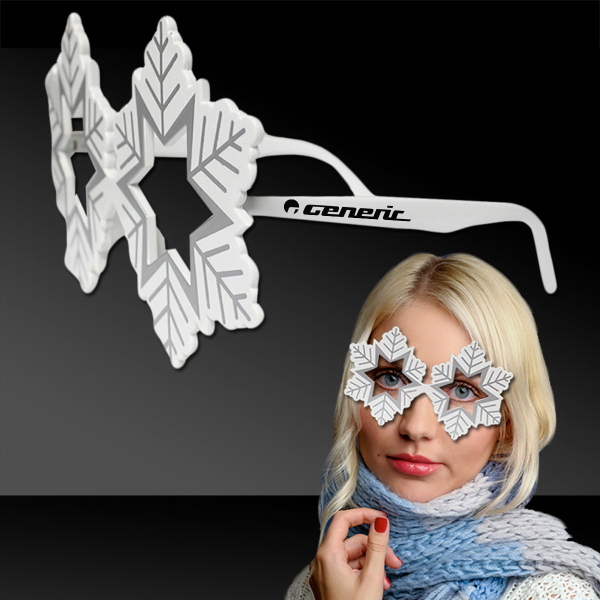 Personalized Snowflake Eyeglasses