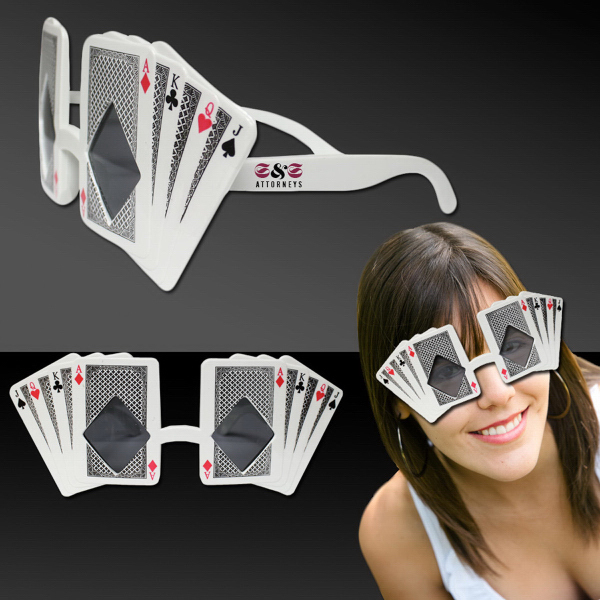 Personalized Playing Card Sunglasses
