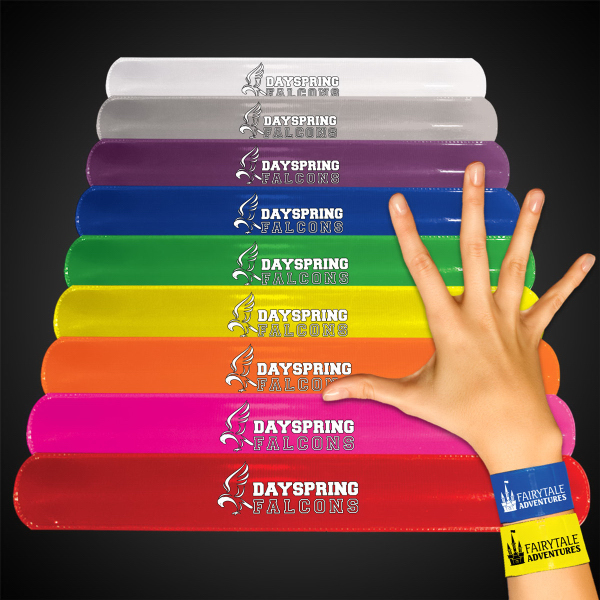 "Personalized 8 3/4"" Slap Bracelet"