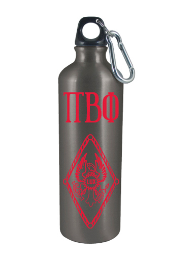 Imprinted USA Aluminum Water Bottle