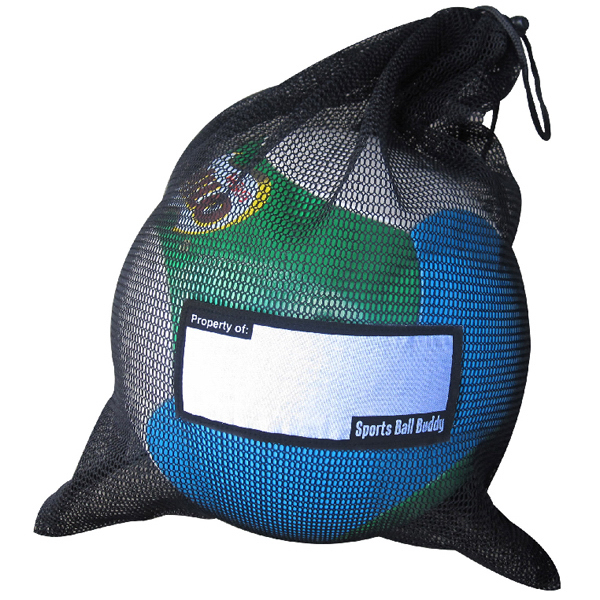 Printed Sports Ball Accessory Net Bag