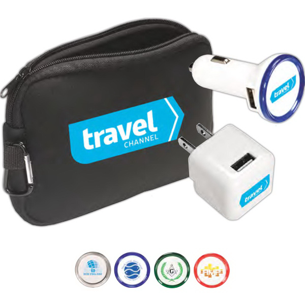 Printed Travel Chargers Kit