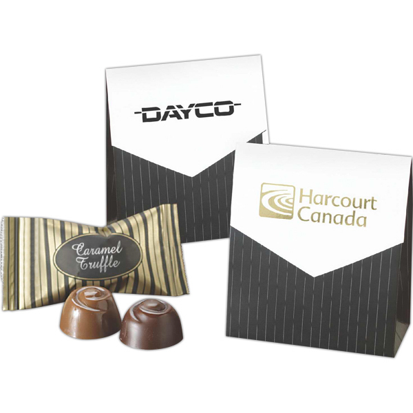 Customized Mini Treat Pouch filled with Signature Truffles