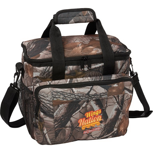 Promotional 16 Can Camo Cooler Bag