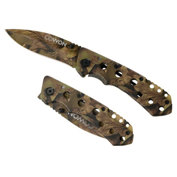 Imprinted Bushmaster Camo Folder