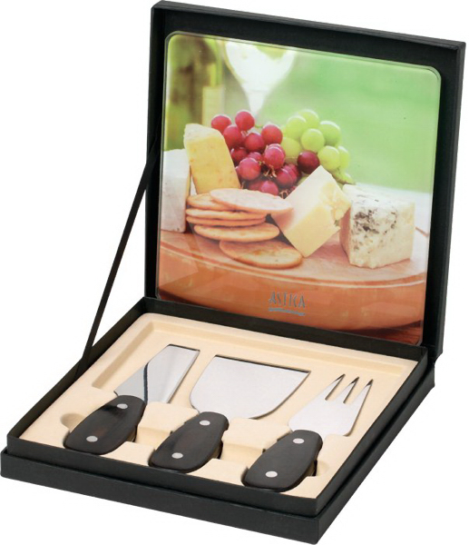 Imprinted Rhone Cheese Set