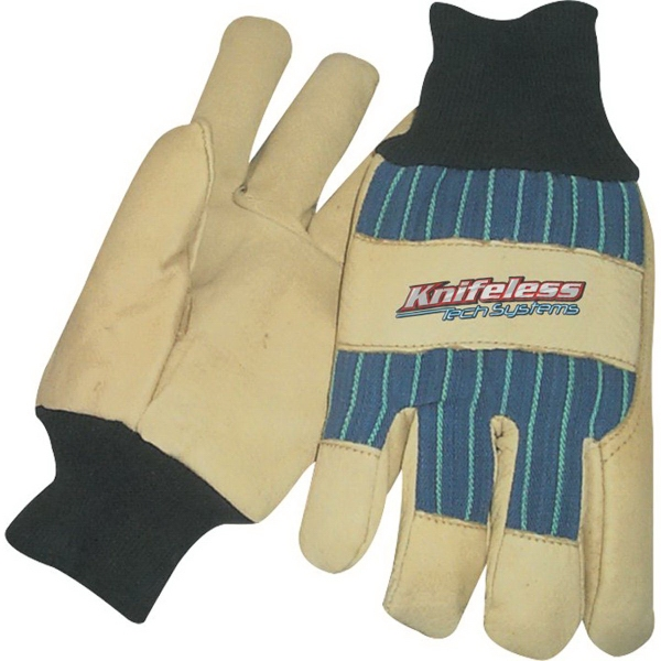 Custom Thinsulate(R) Lined Pigskin Leather Palm Glove