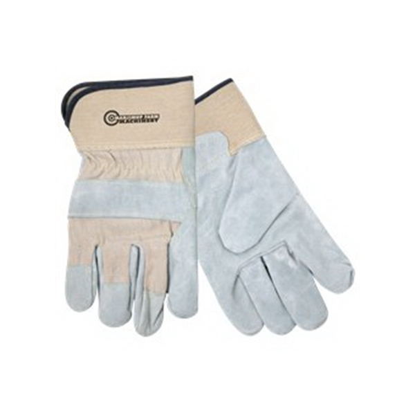 Promotional Spilt Leather Glove With Safety Cuffs