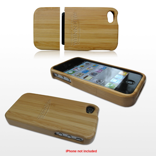 Printed Bamboo Case for iPhone 4/4s