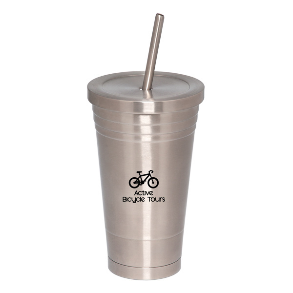 Customized 500 ML (16 oz) Stainless Steel Tumbler