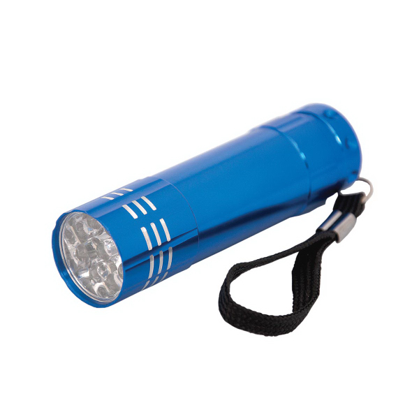 Personalized 9 LED Flashlight