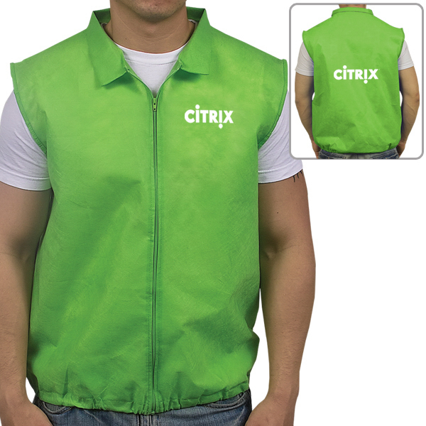 Customized Non Woven Promotional Vest
