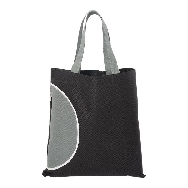 Customized Tote Bag with Zipper Pocket