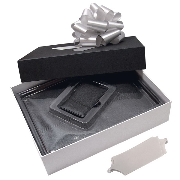 Imprinted Padfolio and Jotter Gift Set