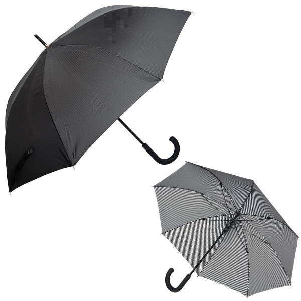 Personalized Executive Pinstripe Umbrella