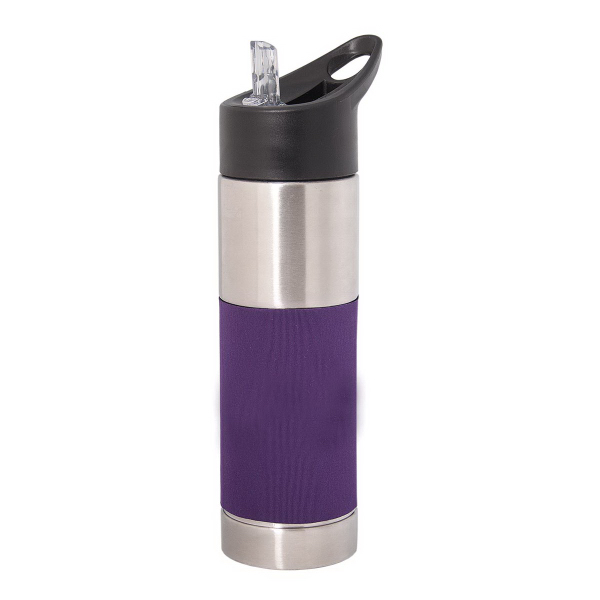 Promotional 700 ml (23.5 oz) Water Bottle with Sleeve
