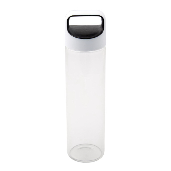 Printed 600 ML (20 oz) Glass Water Bottle