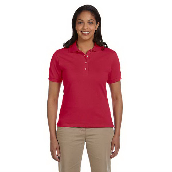 Customized Ladies' 6.5 oz. Cotton Pique Polo