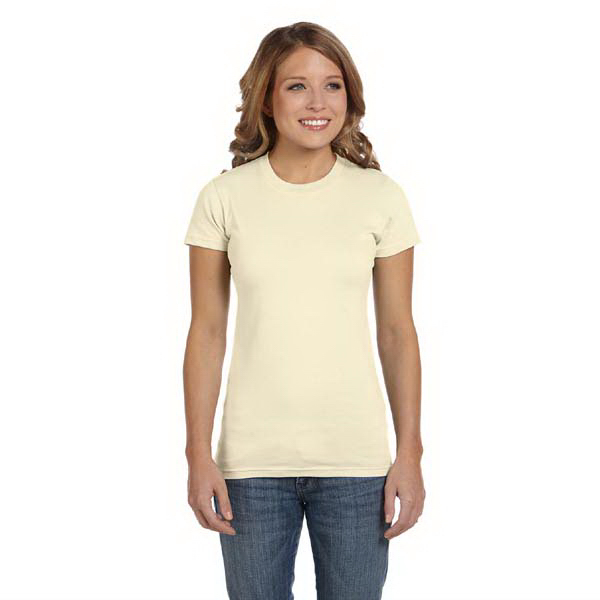 Imprinted 4.5 oz. 100% organic ringspun cotton t-shirt