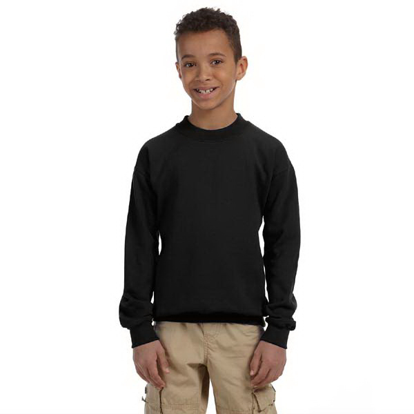 Personalized Youth 8 oz.. Heavy Blend (TM) 50/50 Fleece Crew