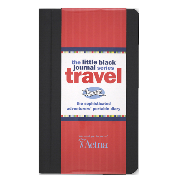 Printed Travel Journal: Little black Travel Journal