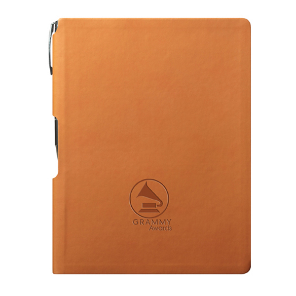 Printed GROOVE Journal with Pen - Orange