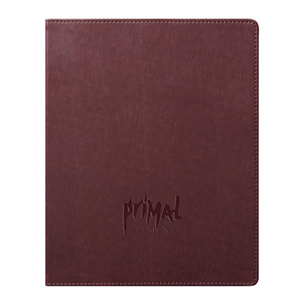 Imprinted URBAN Journal - Brown - Large