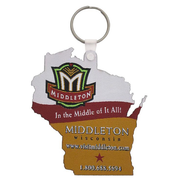 Custom Custom Shaped Key Fob