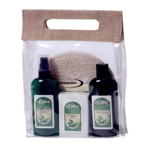 Customized Olive Oil and Avocado Spa Set