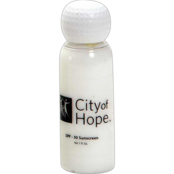Personalized 1 oz. Golf Sunscreen