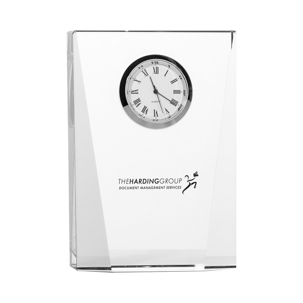 Promotional Crystal Desk Clock