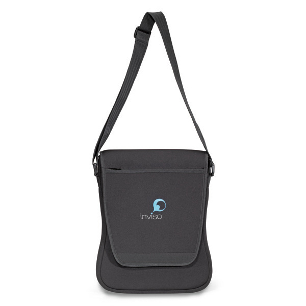 Imprinted Neoprene Ultrabook(TM) Computer Messenger Bag