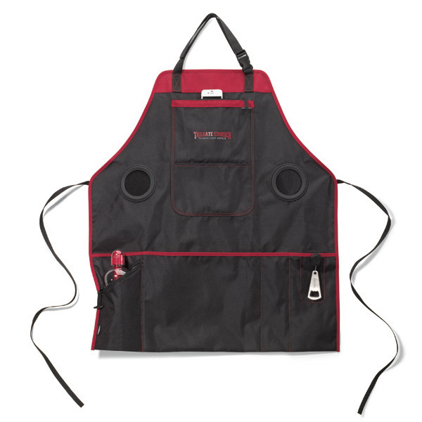 Imprinted Grill & Groove Apron with Speakers