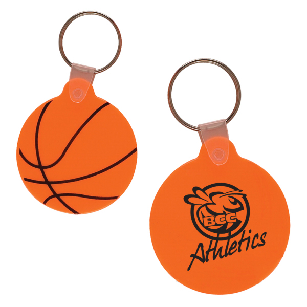 Promotional Basketball Key Fob