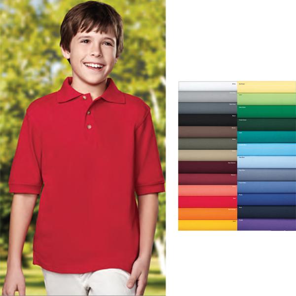 Personalized Element Youth - Short Sleeve Golf Shirt